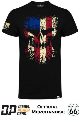 Dodge Ram,Duramax,Powerstroke Official Diesel Power Gear /'Grunge Skull/' T-Shirt