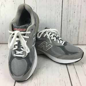 NEW-BALANCE-USA-M990GL3-RUNNING-Grey-Classic-OG-Men-s-Size-10-5-2E-Wide
