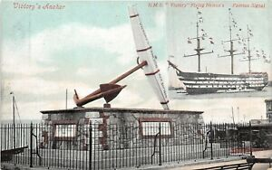 POSTCARD-HAMPSHIRE-PORTSMOUTH-Victory-039-s-Anchor
