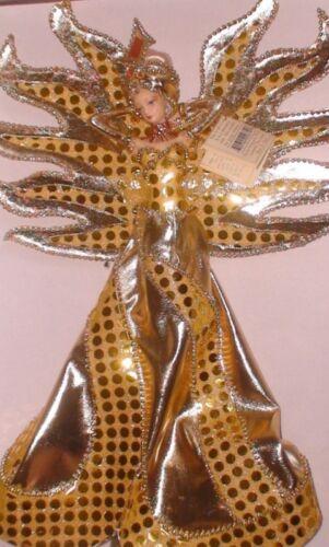 """NIB Porcelain Doll Gold Ltd Ed 3000 NEW Sun Queen 14.5/"""""""