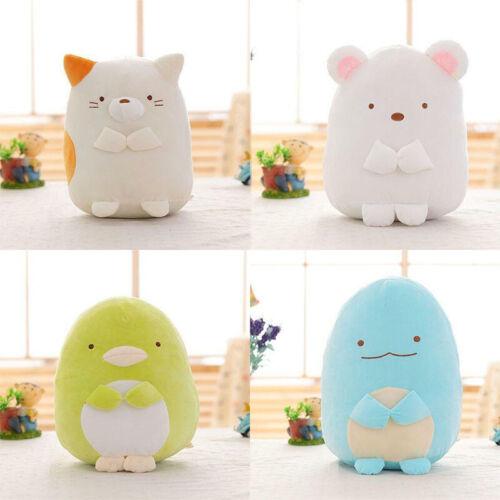 SAN-X Sumikko Polar Bear Kitty Dinosaur gurashi Soft Plush Stuffed Kids Gift
