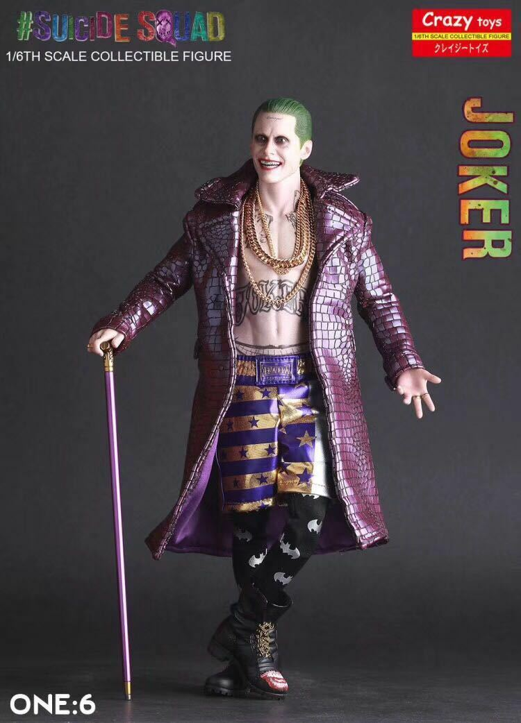 1/6TH Crazy Toys DC Comics Suicide Squad Joker Action Figure Toy Collectible NEW