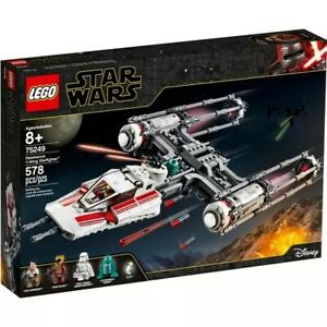 LEGO-Star-Wars-The-Rise-of-Skywalker-Resistance-Y-Wing-Starfighter-75249-New