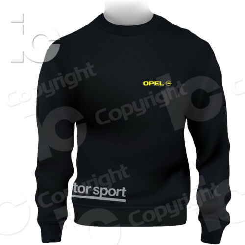 Felpa Opel Motorsport Adam Karl Astra Insigna Antara Racing Stada Sweatshirt
