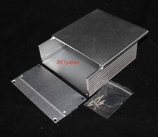 Silver Aluminum PCB instrument Box Enclosure Case Project DIY 110*110*40mm