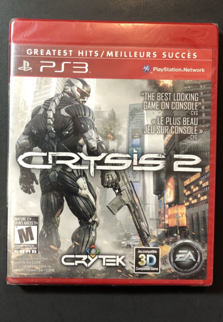 Crysis 2 [ Greatest Hits ] (PS3) NEW