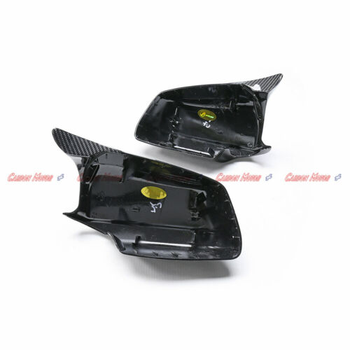 M Style Carbon Fiber Mirror Cover Frame for BMW 5 Series F10 10-13 /& F10 M5 2011