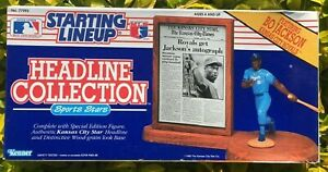 STARTING LINEUP-1986 BO JACKSON ROYALS-HEADLINE COLLECTION-SEALED-ORIGINAL BOX