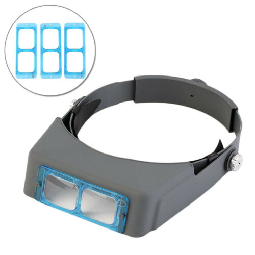 1.5 2.0 2.5 3.5 Times Head Wear Glasses Magnifier For Low Vision Headband Glass