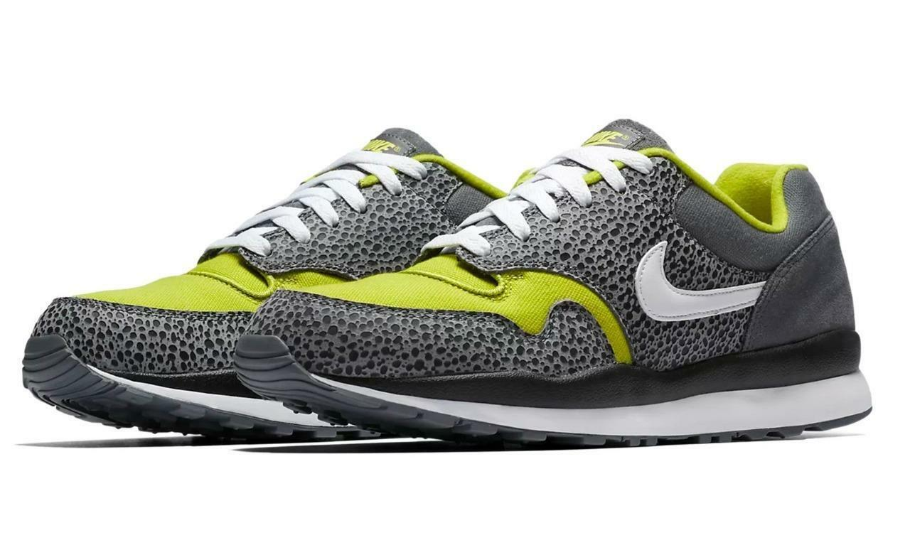 NIKE AIR SAFARI SE AO3298 001 FLINT GREY/WHITE/BRIGHT CACTUS/BLACK