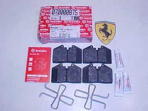 Rear Brake Pads Ferrari 348 GTB F355 GTS Hawk HPS Performance Front