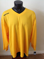 Bauer Hockey Core Gold Practice Jersey Size Senior/adult Long Sleeve
