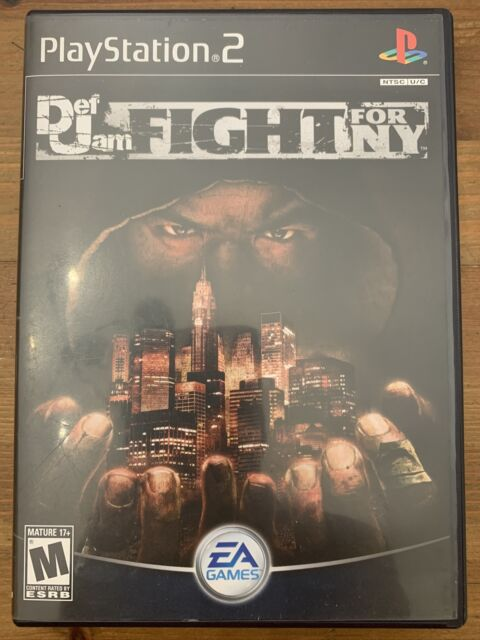 Def Jam: Fight for NY (Playstation 2, 2004) CIB Excellent