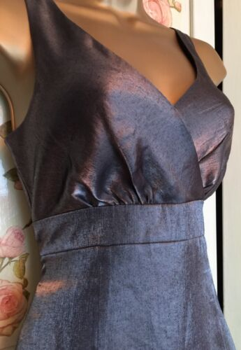 L Stunning Flare 8 Uk Greysilverdress Size And Fit Bennett K CddxwfqU