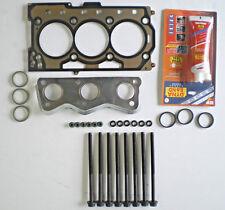 HEAD GASKET SET SEAT IBIZA SKODA FABIA VW POLO FOX 1.2 3 CYL 6V 02 on 54 60 BHP