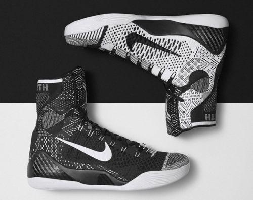 Nike Kobe 9 IX Elite BHM size 12. 704304-010. beethoven prelude FTB