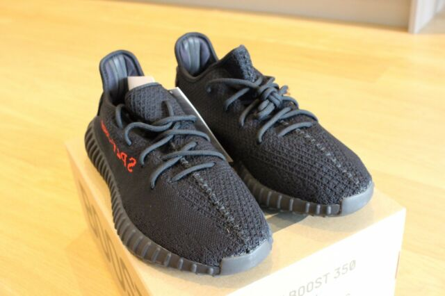 f76fccccd44fe Adidas Yeezy Boost 350 V2 Bred Black Red UK9.5 - Core Black