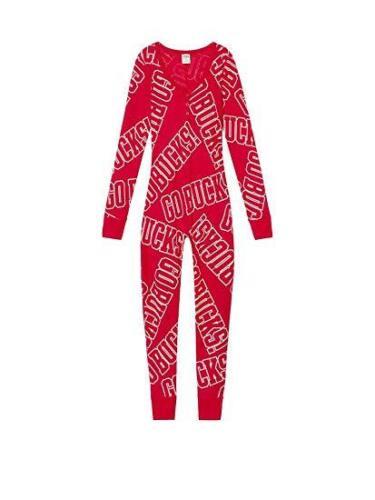 L  NWT Victoria/'s Secret PINK Ohio State Buckeyes Pajamas Women/'s Size XS S