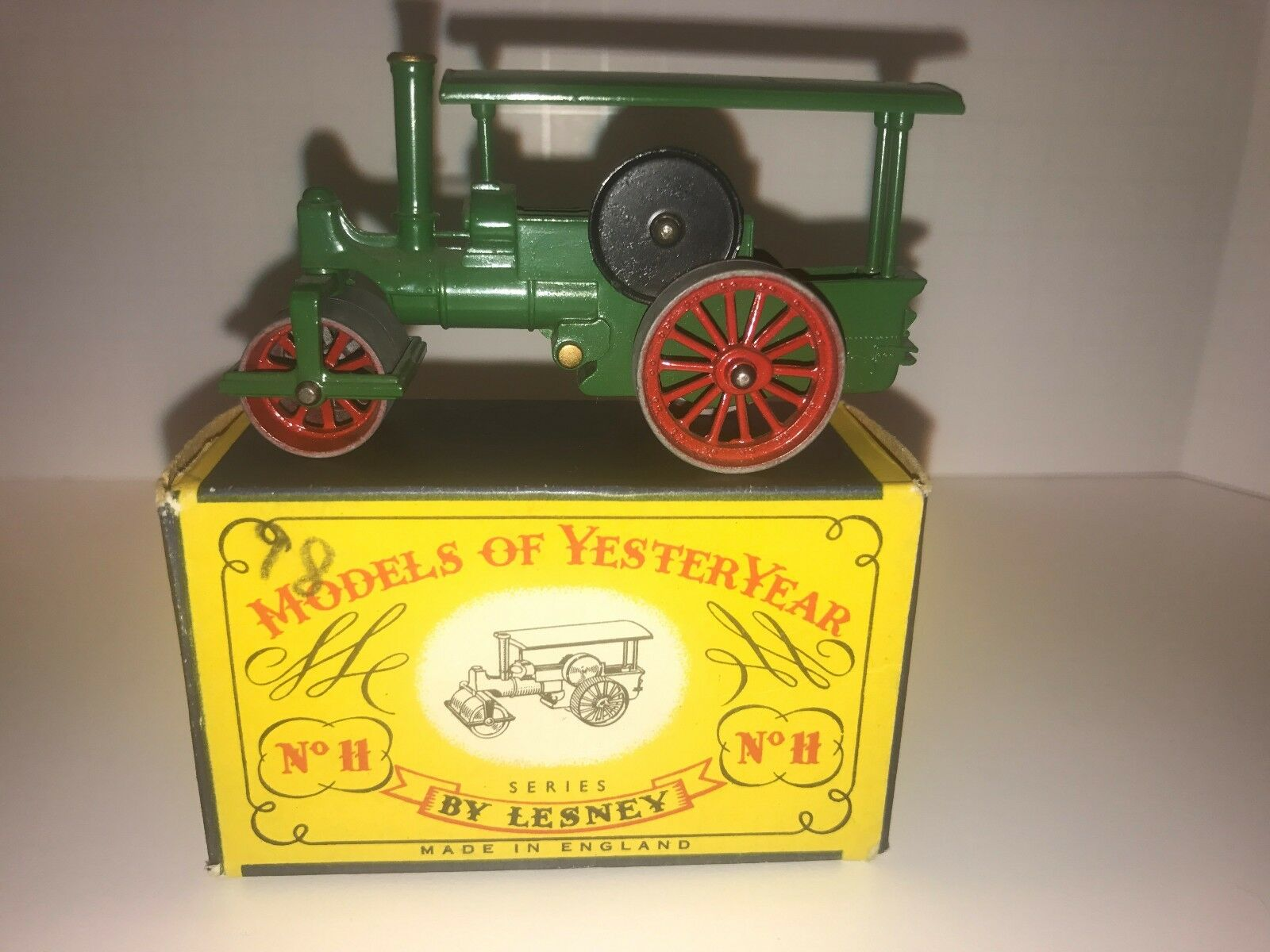 Lesney Steam Roller Great Condition With Original Box