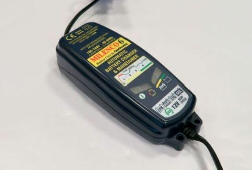 Milenco Optimate 6 Multi Step Leisure Battery Smart Charger Maintainer