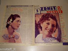 MARJORIE GAGE=KAY FRANCIS=1937/5=Novelle Zenit=Cover magazine=