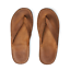 Ralph Lauren RRL Tan Roughout Suede Leather Flip Flops Sandals New