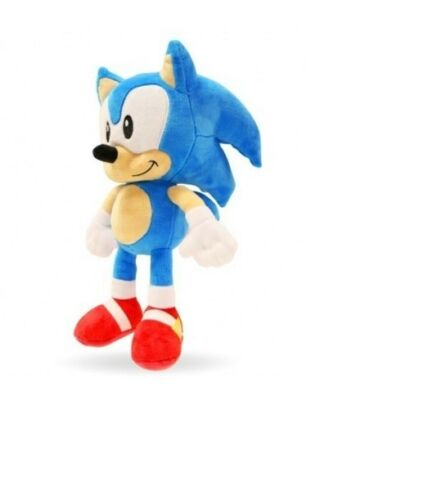 "SONIC THE HEDGEHOG Official 12/"" Sega Sonic Soft Plush Toy Brand New"