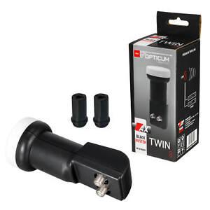 Opticum-Twin-LNB-0-1-DB-FULL-HDTV-blindados-HD-3d-4k-LMB-sat-2-participantes-proteccion-contra-la
