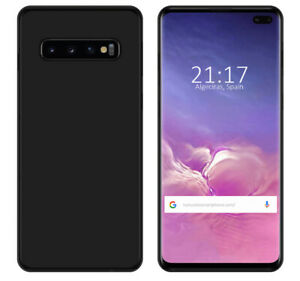 Cover-Gel-TPU-per-Samsung-Galaxy-S10-Plus-Colore-Nera