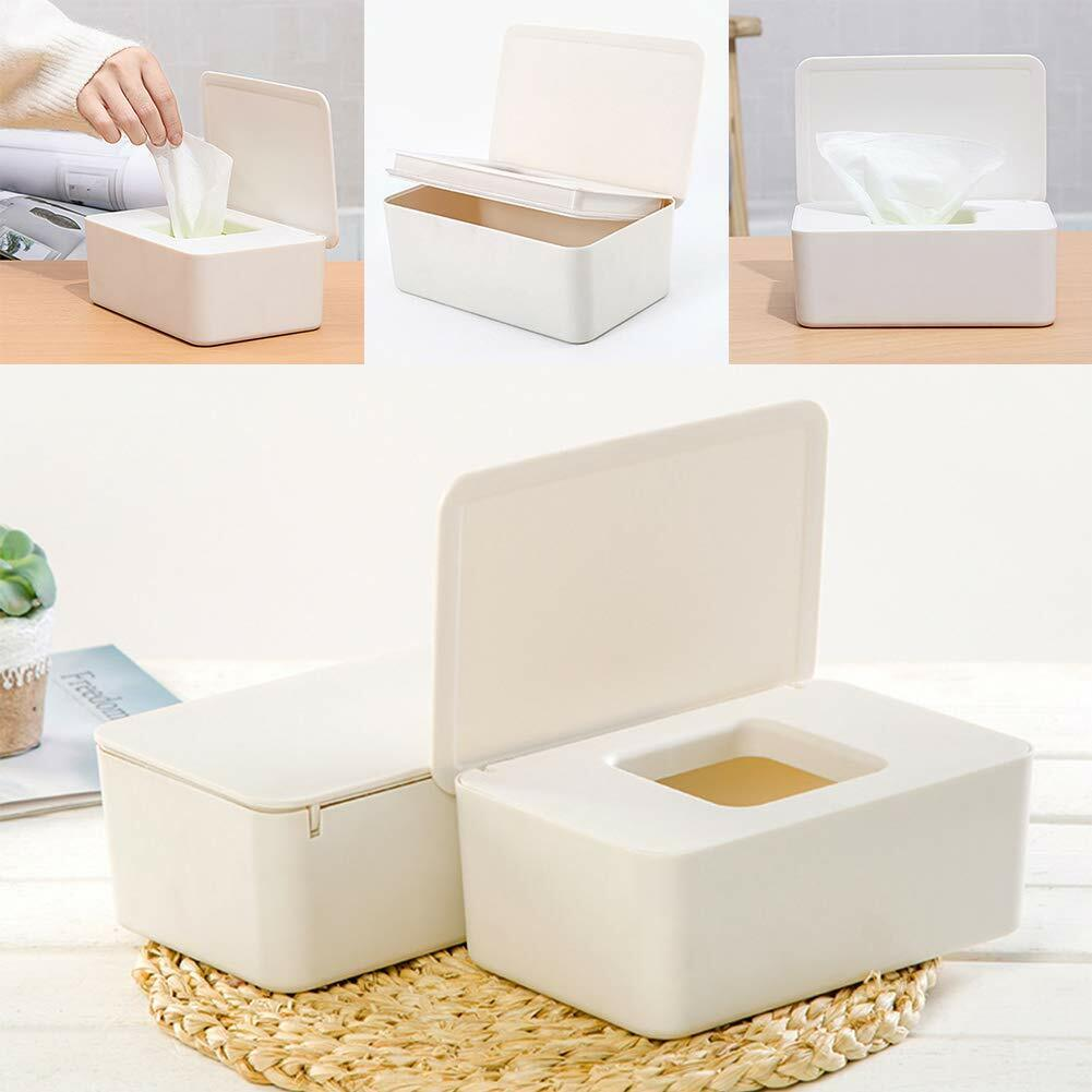 Wet Tissue Paper Case Box Care Baby Wipes Napkin Storage Box Holder  Contain~*