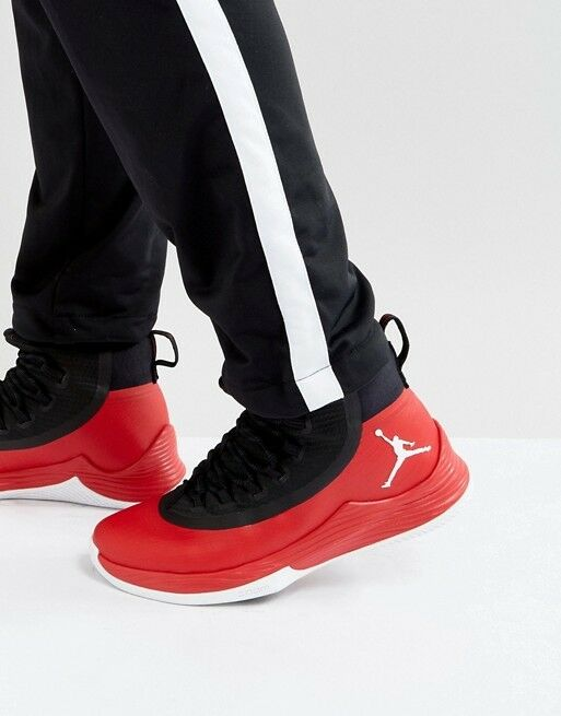 Mens Nike Air Jordan Ultra Fly 2 Red Black Sneakers Nike 897998-601 New Cheap women's shoes women's shoes