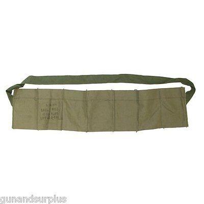 Ammunition Belts & Bandoliers Sweet-Tempered 5 Count Usgi 5.56 223 7 Pocket Bandolier Unissued New Bandoleer .223/556