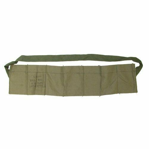 10 COUNT USGI  5.56 223 7 Pocket Bandolier Unissued NEW Bandoleer .223//556