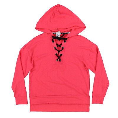 Victoria's Secret Pink Hoodie Full Zip Up Sweatshirt Lightweight Terry Lined New