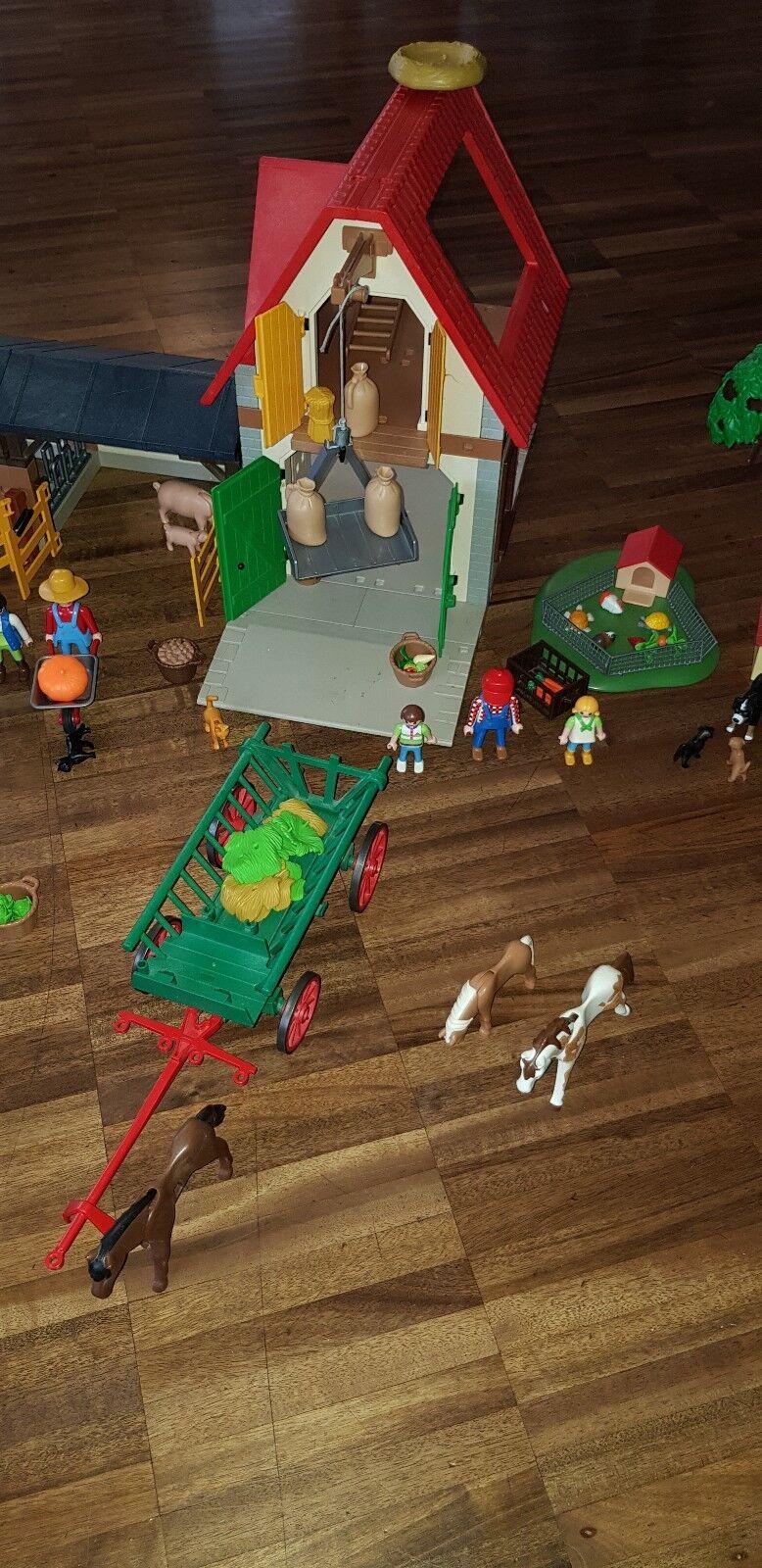Playmobil Bauernhof Zubehör. mit viel Zubehör. Bauernhof 41418d