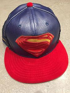 """New Era Batman Vs Superman """"dawn Of Justice"""" Dc Comics 5950 Taille 7 1/8 Ou 7 5/8-afficher Le Titre D'origine Les Commandes Sont Les Bienvenues."""