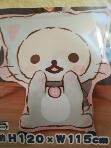 San-X Rilakkuma Korilakkuma Cat Big Size Blanket 120x115cm
