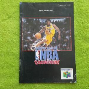 N64-NBA-Courtside-Instrucciones-Manual-Manual-Folleto