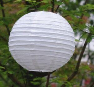 10Pcs-New-Plain-White-Round-Paper-Lanterns-30cm