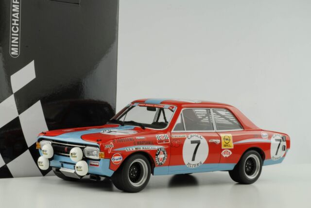 Opel Commodore a Steinmetz #7 24h Spa 1972 Joossens Marshall 1:18 Minichamps
