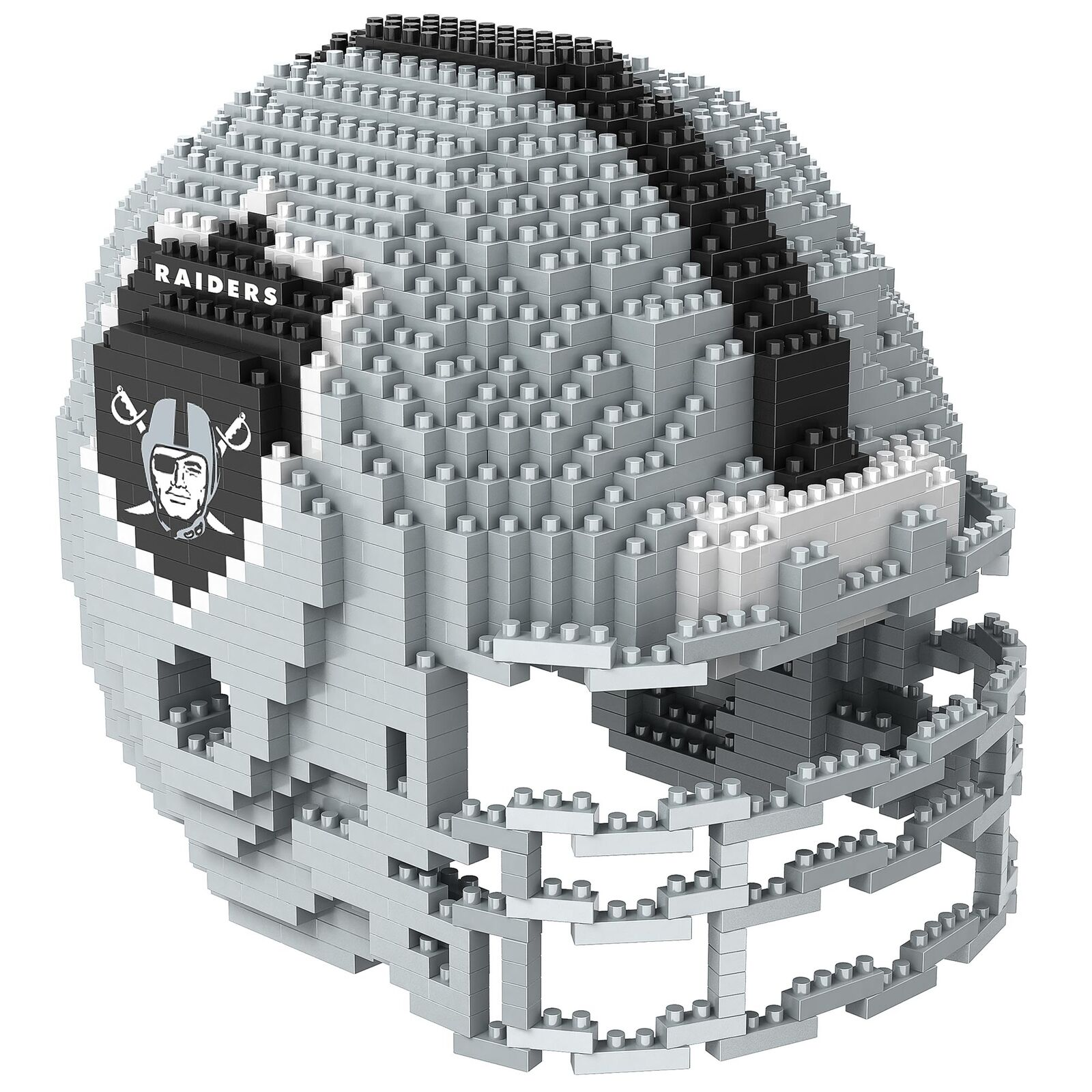 NFL Oakland Raiders 3D BRXLZ Helm Fanartikel Fanartikel Fanartikel Bauset Baukasten Kinder Fanatics bf22b8