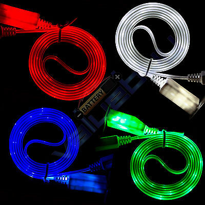 LED Light Micro USB Charger Data Sync Cable for Samsung Galaxy S6,S7 Note 3 4
