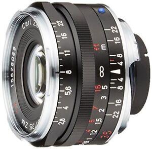 Carl-ZEISS-C-Biogon-T-35mm-f2-8-ZM-Mount-Lens-BLACK-Made-in-Japan