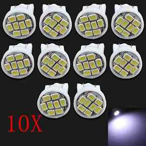 10x-Led-Canbus-Error-Free-T10-168-194-W5W-5-SMD-Car-Side-Wedge-White-light-Bulb