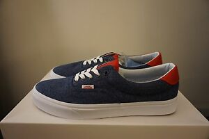 5273a1f137 Image is loading Vans-Era-59-Varsity-Navy-True-White-size-