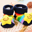 Baby Boy Anti-Rutsch-Socken Cartoon Neugeborenen Slipper Schuhe 0-12 Month Neu