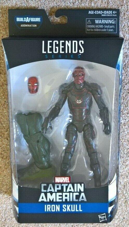 Marvel Legends Abomination BAF Series Red Skull 6 inch figure