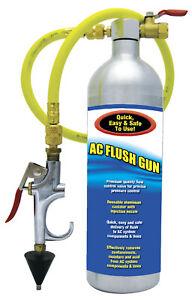 Supercool 27361 Prop 65 R134a R12 Ac Flow Control Flush Tool Gun Kit Cone Ebay
