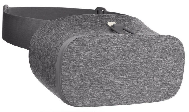 Google Daydream View VR Headset - Charcoal, Excellent condition *Just Headset*