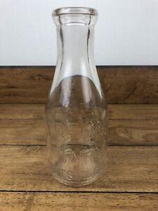 Vintage Treon's Dairy Pottsvile PA Quart Size Bottle